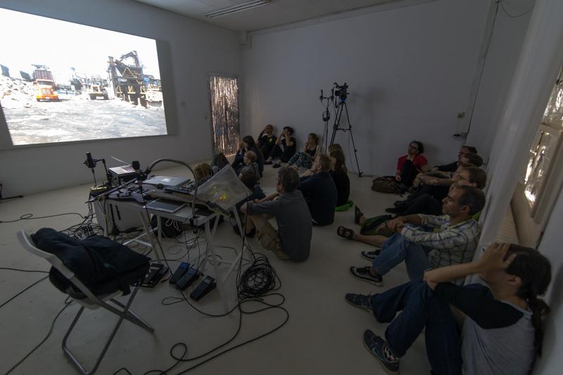 """Event """"Cluster #1"""" im Rahmen des Project Space Festival im Labor"""