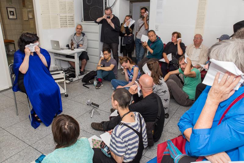 La Plaque Tournante@ Project Space Festival Berlin 2016